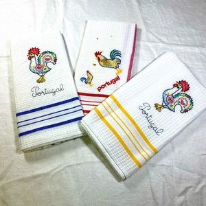 Tea towels from Portugal 🇵🇹 set of 3